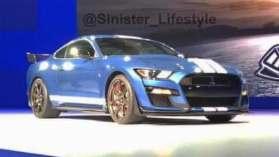 2019 Ford Mustang Shelby Gt500 Leaked Caradvice
