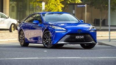2021 Toyota Mirai Price And Specs Hydrogen Electric Car Offered In Limited Numbers Caradvice