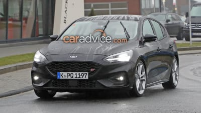 2019 Ford Focus St Spied Undisguised Caradvice