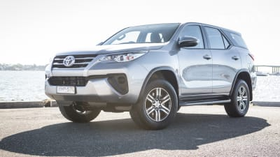 the top of the range fortuner is a stretch, when you consider you're  already in prado territory price-wise near 60 grand  while the fortuner  platform is