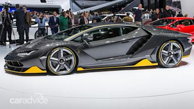 2017 Lamborghini Centenario 566kw V12 Centenary Limited Edition