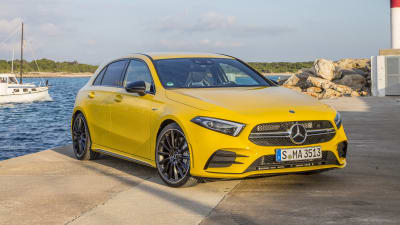 2020 Mercedes Amg A35 Pricing And Specs Caradvice