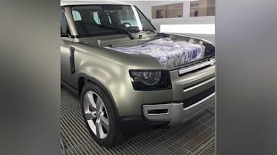 2020 Land Rover Defender Release Date >> 2020 Land Rover Defender Front End Leaked Caradvice