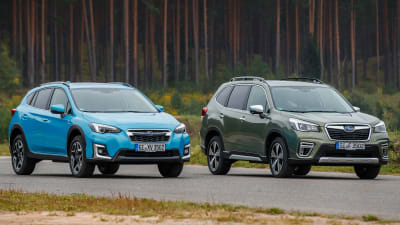 2020 Subaru Forester Hybrid Xv Hybrid Pricing And Specs Caradvice