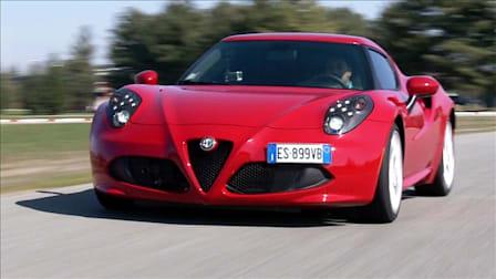 Alfa Romeo 4C in Italy