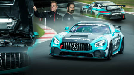 Mercedes-AMG GT4 race car review