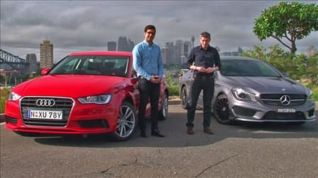 Audi A3 sedan v Mercedes-Benz CLA-Class Review