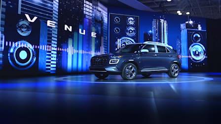 2019 New York motor show: Hyundai Venue city SUV unveiled