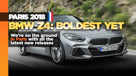 New BMW Z4 drops top for Paris crowd