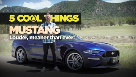 2019 Ford Mustang: 5 Cool Things