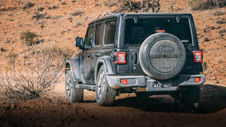 Jeep Wrangler: Highest to lowest, heading off-road!