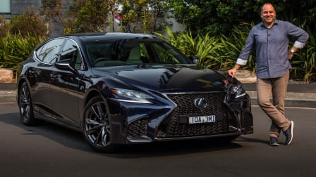 Video review: 2020 Lexus LS500h F Sport