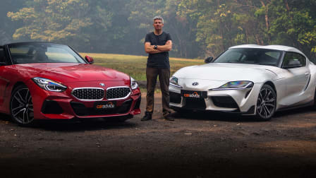 2020 BMW Z4 sDrive20i v Toyota GR Supra GT comparison