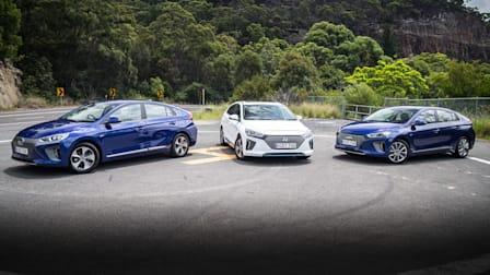 2019 Hyundai Ioniq Range Review