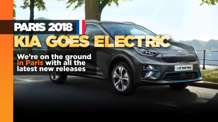Kia e-Niro electric SUV revealed in Paris