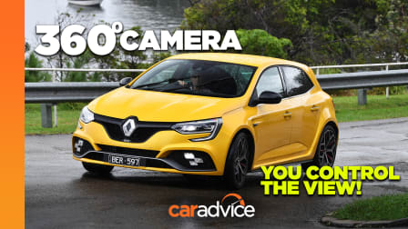 Video: 360-degree drive: 2021 Renault Megane RS Trophy Automatic