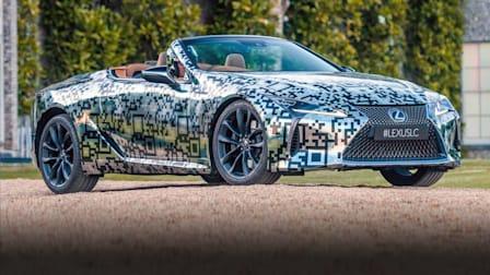 2020 Lexus LC Convertible Prototype: Walkaround tour