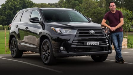 2020 Toyota Kluger Black Edition AWD review