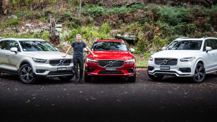 Range Review: Volvo XC40, XC60, XC90