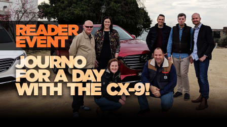 Journo for a day: CarAdvice readers experience the new CX-9