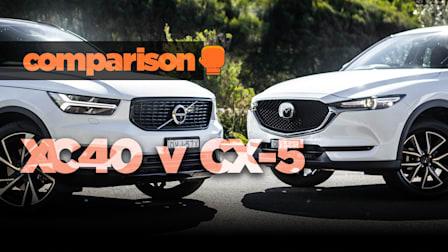 Volvo XC40 v Mazda CX-5: Size and value!