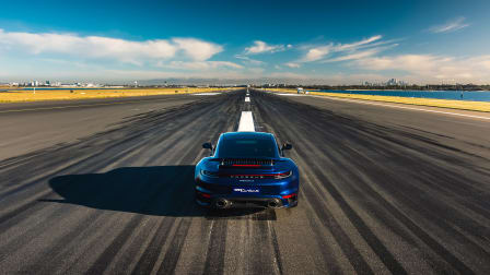 Video: 2021 Porsche 911 Turbo S Launch Control at Sydney airport