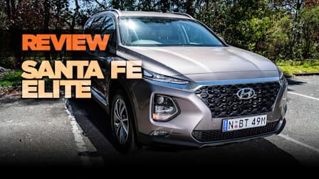 2018 Hyundai Santa Fe Elite review: CRDi diesel AWD