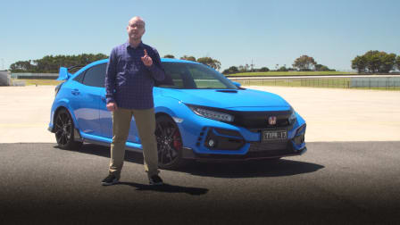 Video: 2021 Honda Civic Type R review at Phillip Island Grand Prix Circuit
