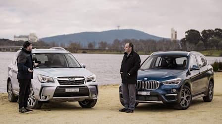 Subaru Forester v BMW X1 Comparison
