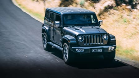 Jeep Wrangler: Highest to lowest, on the road!