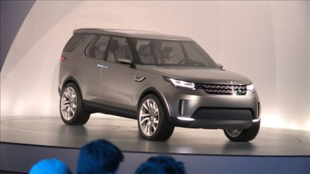 Land Rover Discovery Vision Concept Exclusive First Look