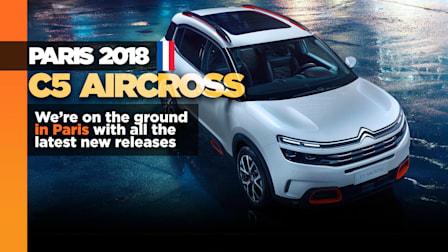 Citroen C5 AirCross shows in Paris, soon for Australia