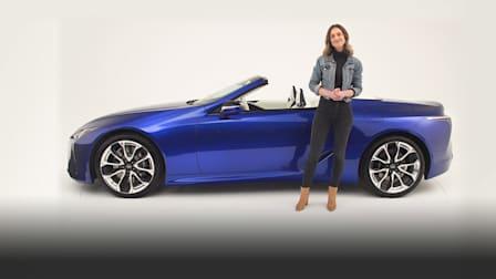 Video: 2020 Lexus LC500 Convertible walkaround