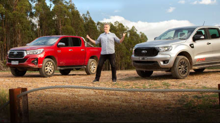 Revideo: 2020 Ford Ranger vs Toyota HiLux comparison review