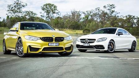 2016 BMW M4 Competition v Mercedes-AMG C63 S Track Test