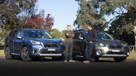Wagon or SUV? 2019 Subaru Outback 2.5i Premium v Subaru Forester 2.5i-S comparison