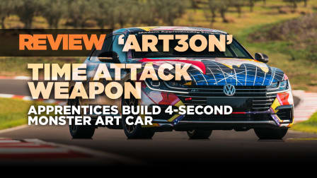 Volkswagen Arteon Time Attack review: Mad apprentices