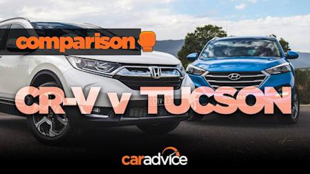 Comparison: 2018 Honda CR-V v Hyundai Tucson