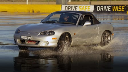 Skid and slide: Attending a driver-training event post COVID-19