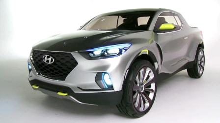 Hyundai Santa Cruz Design Interview : NAIAS Detroit Motor Show 2015