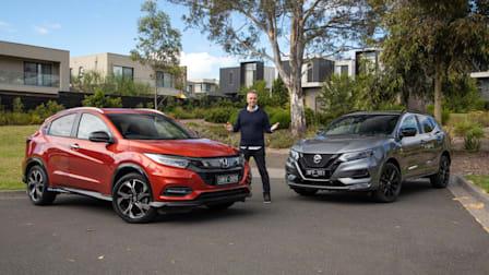 Video: 2021 Honda HR-V RS v Nissan Qashqai Midnight Edition Comparison
