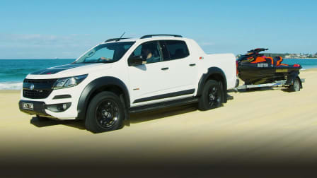 A road trip to Blacksmiths Beach in a 2020 Holden Colorado Z71