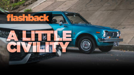 Flashback: Driving the 1973 Honda Civic