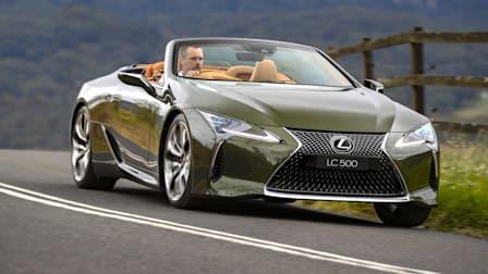 Video: 2021 Lexus LC500 Convertible review