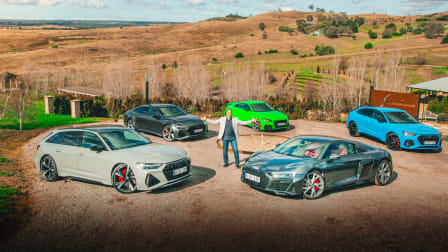 Video: 2020 Audi RS and R range review