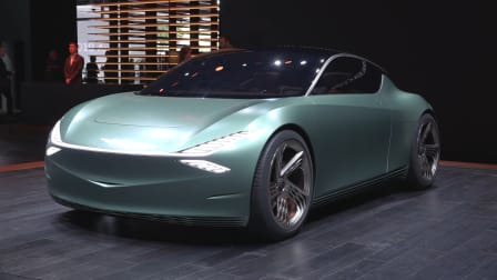 2019 NEW YORK MOTOR SHOW: Genesis Mint electric car concept