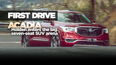 2019 Holden Acadia review: Australian launch