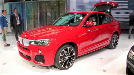 BMW X4 at NYIAS 2014