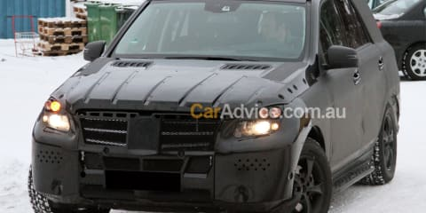2011 Mercedes-Benz ML-Class spied again