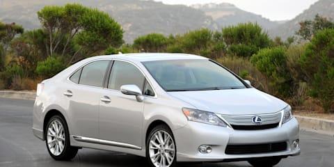 Toyota to recall 17,000 Lexus HS 250h models